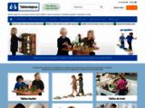 Table LEGO: Meubles et Tables de jeux pour espace enfants et coin de jeu - Tables de Jeux