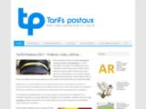 Taris postaux: les services d'envoi de courrier  et colis en France