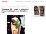 Tatouage 3D - De terribles incroyables tatouages 3D