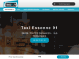 Taxi Essonne 91 24h/7j - Réservation & Contact 06 69 70 91 91