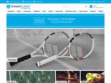 Raquettes de tennis, chaussures de tennis, cordages - TennisPlanet