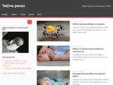 Tetine personnalisée avec le prenom de bebe - Tétine Perso