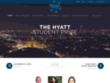 The Hyatt Student Prize Home - The event