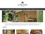 Le Petit Chalet : Bed & Breakfast in Saint Saens, Normandy