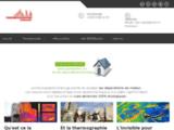 Thermographie infrarouge aérienne: bilan thermique dpe bâtiment
