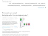 Thermomètre sans contact : Quel est le meilleur ? Comparatif précis