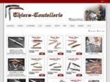 Thiers Coutellerie, vente de couteaux Laguiole, Auvergne et Aveyron