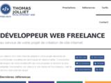 Thomas Jolliet - Création de site web