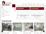 L'agence immobilière Toit Français sur Bordeaux de l'immobilier sur Bordeaux : Vente et   Location de maison et d'appartement sur Bordeaux.