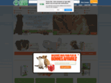 Croquettes pour chien fabriquées en france - Alimentation bio - Toutoubio prend soin de vos animaux