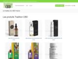 Des huiles de CBD sur Tradition CBD
