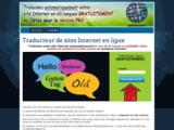 Traducteur de site Internet en ligne gratuit - Traduit votre site Web automatiquement