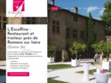 L'Escoffine : traiteur et restaurateur pour réceptions autour de Valence et Romans (Drôme)