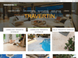 Carrelage Travertin prix pas cher | Livraison offerte - Travertin.fr