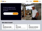 Le bon réflexe pour vos travaux ! + 3000 pros certifiés. — TrustUp.be