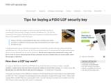 U2F Security Key : clé U2F FIDO