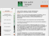Cours individuels en anglais, espagnol, italien - Une Autre Langue - Poitiers 86