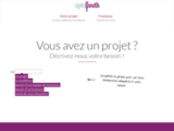 Uptoyouth, plateforme d'accompagnement de projets.