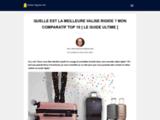 Guide complet pour trouver la meilleure valise rigide