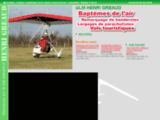 ULM en Vendée: faites votre baptême de l'air avec ULM Henri Gréaud