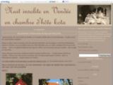 Nuit insolite en Vendée en chambre d'hôte kota