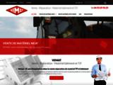 Vemat, vente matériel btp, réparation matériel bâtiment, achat matériel travaux public Nice, Alpes Maritimes (06)