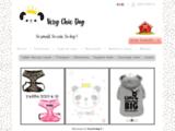 Boutique d'accessoires et vêtements pour Chihuahua et petits chiens