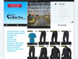 Vetements de travail , vêtements professionnels, tenues de travail | JmacPro Fournisseur grossiste