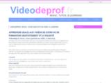 Videos de profs - Cours et leçons scolaires  et  éducatifs gratuits en video