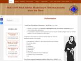 Institut des Arts Martiaux Vietnamiens - Viet Vo Dao