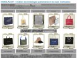 Fabrication d'emballages publicitaires - sacs et housses - par Vignolplast.