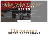 Resto italien avec terrasse Les Mureaux, Yvelines-La Villa César