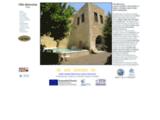 location villa de luxe et familiale en crete grece