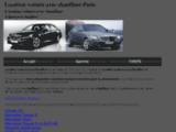 Location voiture avec chauffeur Paris - CPS Services