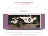 voiture mariage : réservez notre voiture de mariage