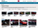 Présentation de voitures de luxe et de sport