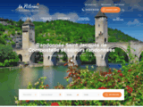 Home Page, Walks in France - La Pèlerine : Self-guided walking tours in France - Saint James Way - Stevenson Trail