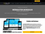 Webmaster Bordeaux création de site internet - Webmaster Gironde