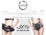 Wild lingerie - lingerie et accessoires de luxe, fétichistes et érotiques