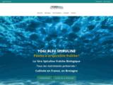 Yogi Bleu - Spiruline Bio Française cultivée en Bretagne