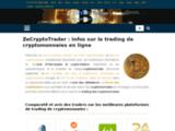 Tout sur le trading de cryptomonnaies en ligne