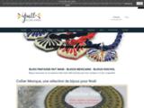 bijoux ethniques ; bijoux mexicains ; accessoires femmes ; artisanat mexicain ; bijoux femmes fantaisie ; fait main ; bijoux en céramique ; colliers huichol