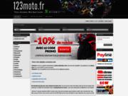 Pièces moto sur 123moto.fr