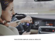 Abripoints Permis - Récupération de points, Auto-école, Tests psychotechniques abripoints.fr