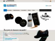 Accessoires Chaussures: Ventes de produits d'entretien et accessoires pour chaussures