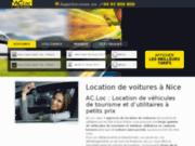 AC.Loc : Location de voiture à Nice