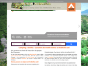 Actinidias.com - camping 2 étoiles en bord de rivière ardéchoise, à Casteljau