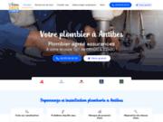 Action 2424 Plombier agréé assurance à Antibes
