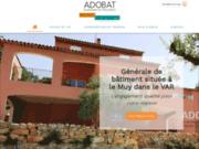 La société ADOBAT à le Muy réalise le ravalement de votre façade
