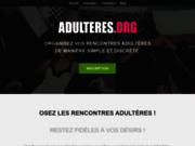 Rencontres adultères et infidèles sur Adulteres.org